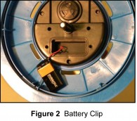 New Battery Installation Diagram
