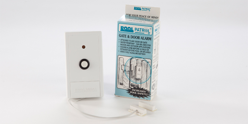 Pool gate alarm swimming alarms patrol